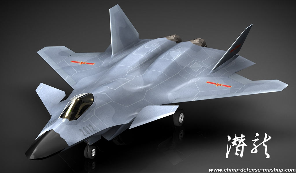 Stealth fighter sneaks up on taiwan